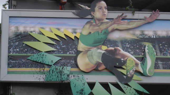 BP Olympics ads splashed with oil