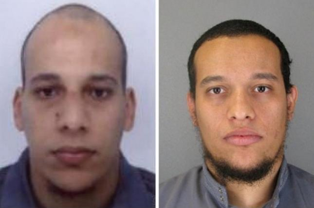The Kouachi brothers, suspected in the Charlie Hebdo Paris attacks, died Friday in a standoff with police. Photo courtesy Prefecture de Police (French Police)