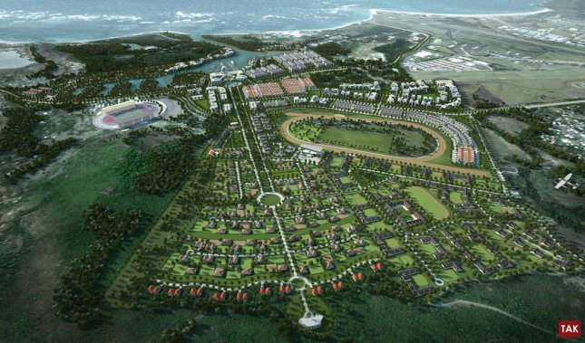 The $2.6 billion Pearl of the Caribbean development for the island of St. Lucia will include entertainment, housing, recreation, a casino and a race track.