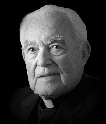 The Rev. Theodore M. Hesburgh, who served as president of the University of Notre Dame from 1952 to 1987, died at the age of 97. Photo courtesy University of Notre Dame