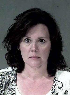 Susan Brock, as seen in her mugshot.