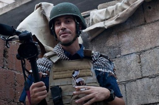 James Foley in Aleppo in November. (Photo courtesy Foley family/Nicole Tung)