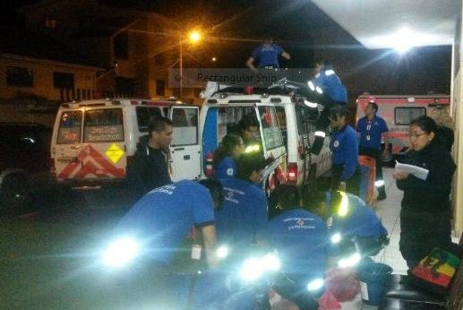 The International Red Cross is sending hundreds of volunteers to Ecuador to assist with recovery following a powerful earthquake that hit the Latin American country early Saturday evening. Photo from International Federation of Red Cross/Twitter.