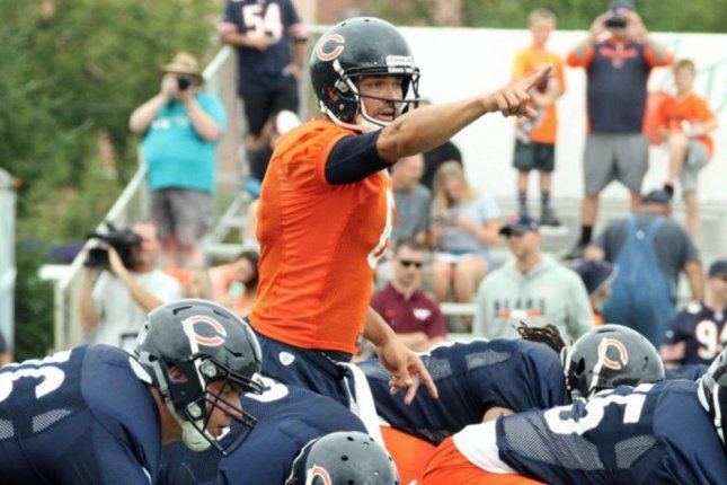 Former Chicago Bears quarterback Mark Sanchez. Photo courtesy of the Chicago Bears/Twitter.