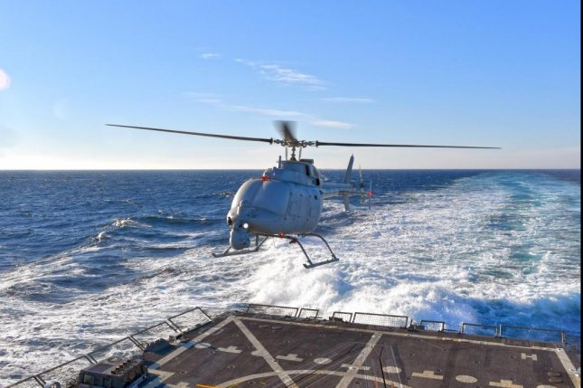 Northrop Grumman Systems Corp. has been awarded a $108 million U.S. Navy contract for the procurement of 10 MQ-8C Fire Scout drones. Photo courtesy Northrop Grumman
