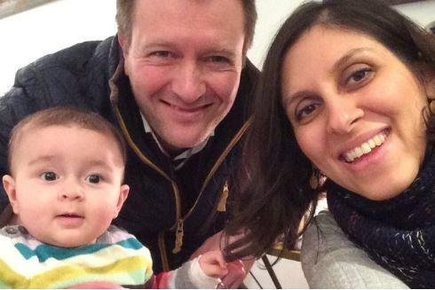 Nazanin Zaghari-Ratcliffe, 37, (R) and her 22-month-old daughter, Gabriella, were detained in Iran in 2016 while attempting to board a flight to Britain to see her husband Richard Ratcliffe in April. Ratcliffe said his wife faces additional charges. File Photo courtesy Change.org