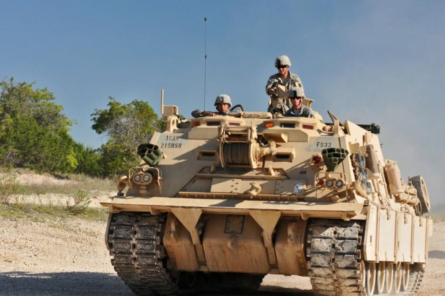 The M88A2 is capable of carrying a 70-ton payload using its main winch, allowing it to recover large assets such as an M1A2 Abrams batle tank. U.S. Army photo by Sgt. Kim Browne