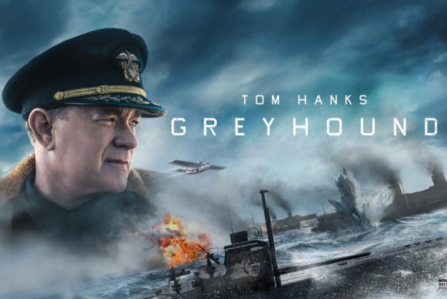 Greyhound, a WWII drama starring Tom Hanks, Stephen Graham and Rob Morgan, is coming to Apple TV+ in July. Photo courtesy of Apple TV+