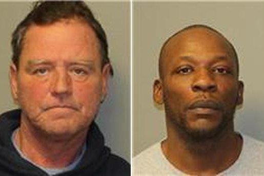 Thomas Robbins (left) and Malcolm Sidbury (right) (Credit: New York State Police)
