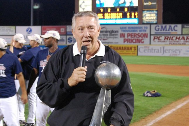 Joe Klein, former general manager of the Texas Rangers and two other Major League Baseball teams, died Wednesday due to complications from heart surgery. He was 75. Photo courtesy of Atlantic League/Twitter
