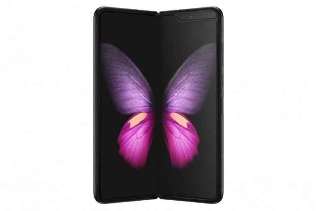 Samsung Electroinics announced Thursday that it will release its Galaxy Fold foldable smartphone on Friday, Septmeber 6. The device, which opens and closes like a book to reveal a tablet-sized screen, will cost nearly $2,000. Photo provided by Samsung Electronics