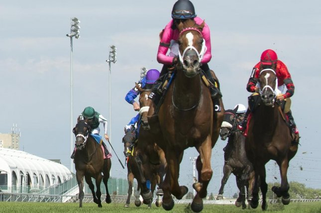 Got Stormy, seen winning the 2018 Ontario Colleen over the course, is the morning-line favorite for Saturday's $1 million Ricoh Woodbine Mile. Photo courtesy of OJC