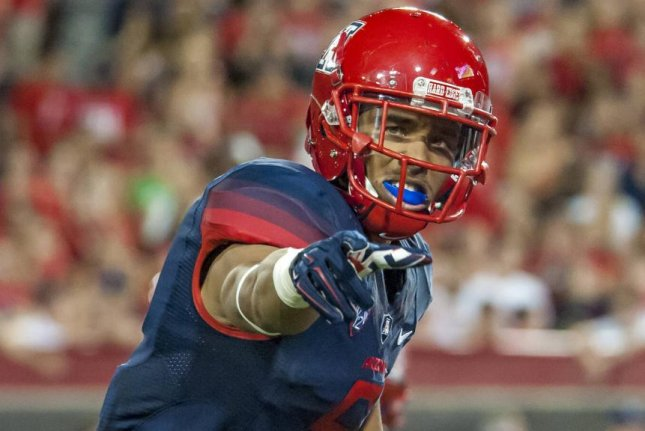 The Indianapolis Colts signed free agent Trey Griffey, son of baseball hall of famer Ken Griffey Jr. Photo courtesy ArizonaWildcats.com