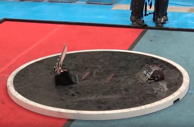 Watch: Japanese sumo robots compete in lightning-fast