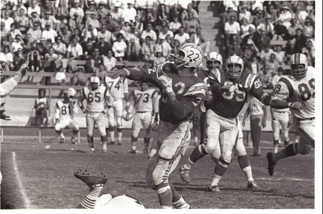 Former San Diego Chargers running back Keith Lincoln played in the NFL from 1961 to 1968. Photo courtesy of Washington State Athletics