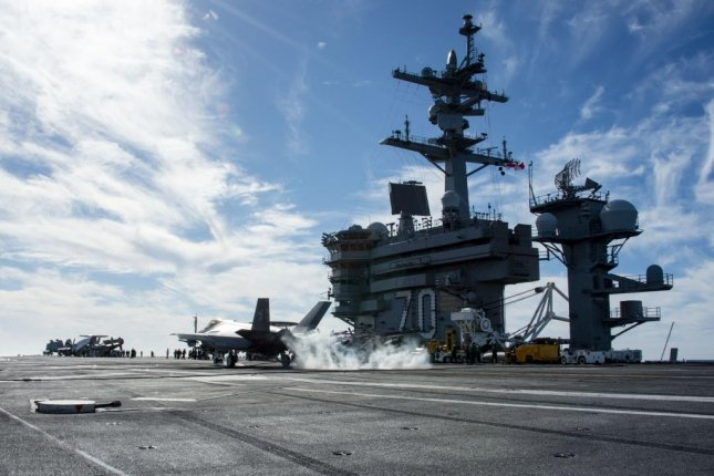 The Navy declared initial operating capability for Joint Precision Approach and Landing System earlier this month. Photo courtesy U.S. Navy