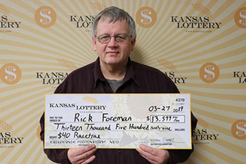 Kansas man's lottery mistake earns him $13,599