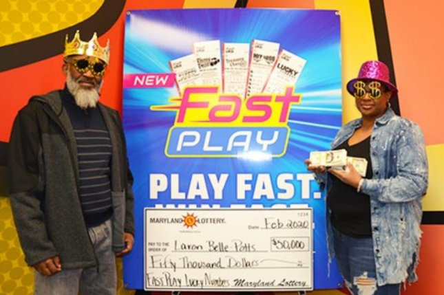 A Maryland woman said having to go into a store for a second time when she forgot to buy bread sticks led to her winning a $50,000 lottery jackpot. Photo courtesy of the Maryland Lottery