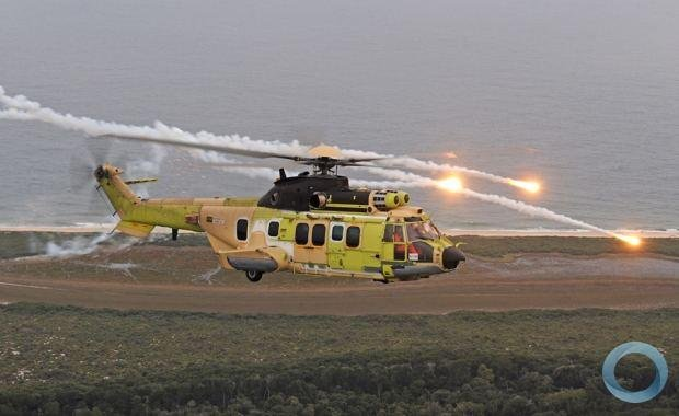 Airbus Helicopter's EC-725. (Photo: Brazilian Air Force)
