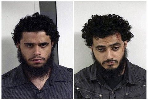 Carlos Eduardo Almonte on the left, and Mohamed Mahmood Alessa on the right in an undated photo courtesy of the U.S. Marshals.