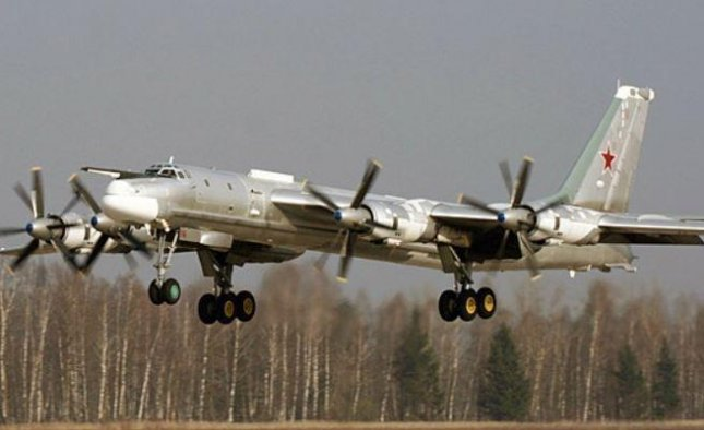 Us F 22s Intercept Tu 95 Russian Bombers Near Alaska Upicom