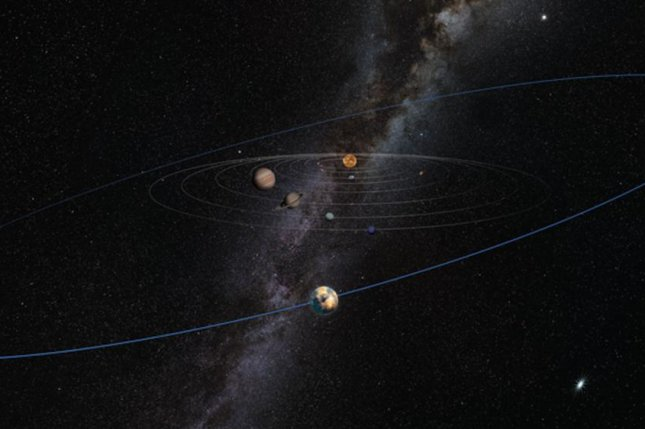 New research suggests a hidden planetary mass is altering the orbital plane of debris in the outer reaches of the Kuiper Belt. Photo by Heather Roper/LPL
