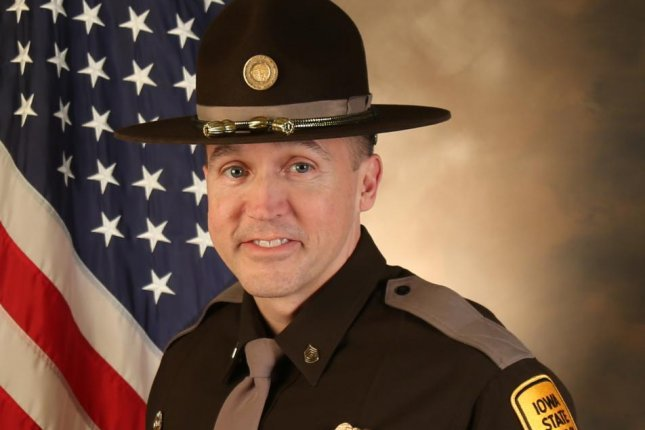 Sgt. Jim Smith, a 27-year veteran of the Iowa State Patrol, was shot and killed attempting to apprehend a man who barricaded himself inside his home after assaulting another Iowa law enforcement officer. Photo courtesy Iowa Department of Public Safety