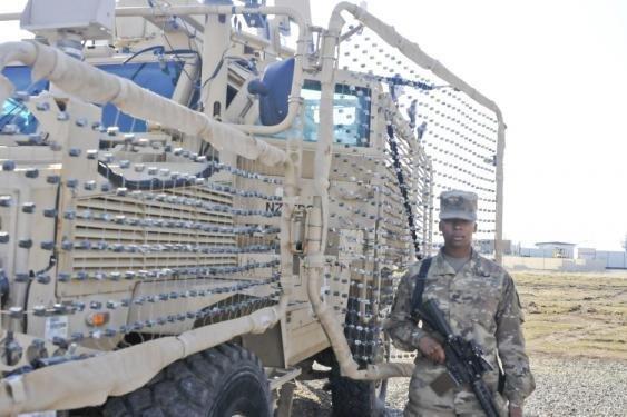 Navistar contracted for rocket-propelled grenade netting