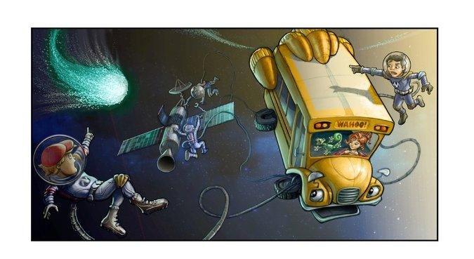 The Magic School Bus 360° (Scholastic Media/NYT)