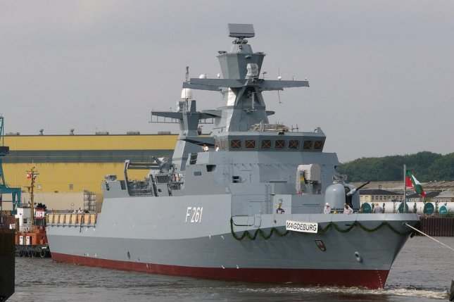 German military is set to procure five more K130 corvettes. Pictured, the German navy's K130-class corvette Magdeburg. Photo by Dkm/Wikimedia Commons