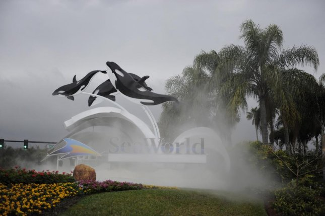On Tuesday, SeaWorld announced CEO Joel Manby will step down following a $200 million loss reported by the company for 2017. File Photo by Preston Mack/EPA