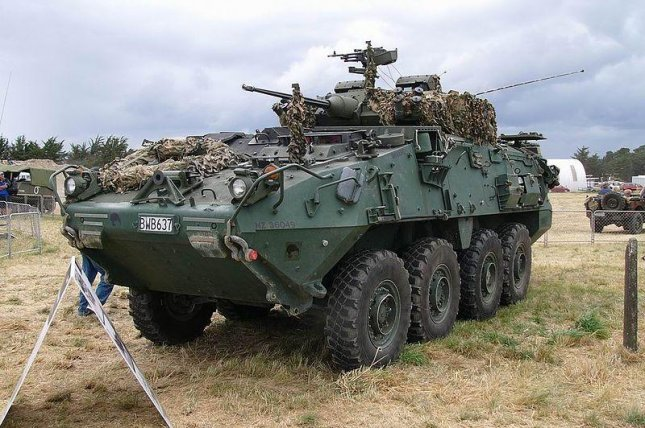 An LAV III operated by New Zealand. (CC/111 Emergency)
