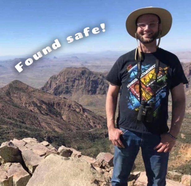 Joshua McClatchy was found safe late Friday night, one week after he texted his mom that he was lost while hiking in Arkansas. File Photo courtesy of Finding Joshua McClatchy/Facebook