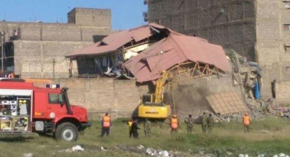 Building collapses in Kenyan capital Nairobi