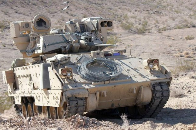 The U.S. Army reopened competition for vehicle designs to replace the M-2 Bradley Fighting Vehicle, pictured, with a request for proposals issued on Friday. Photo courtesy of U.S. Army