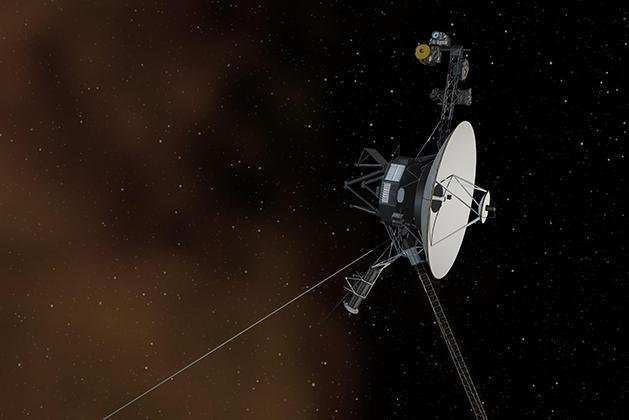 Voyager 1 and 2 are more than 14 billion miles form the sun, farther away than any other human-made object has ever travelled. Photo by NASA/JPL