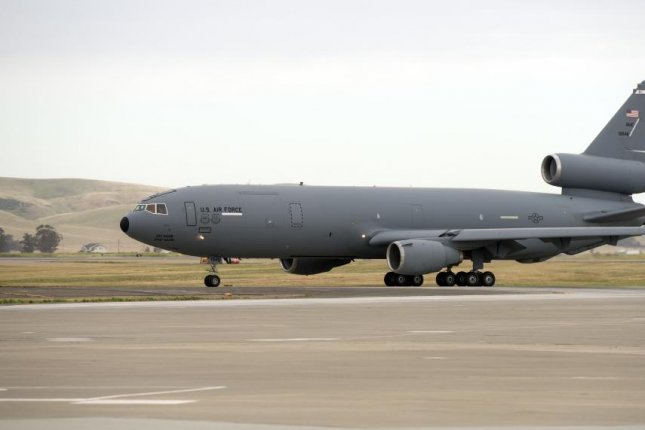 Northrop Grumman has been awarded a $13 million U.S. Air Force delivery order modification for three engine overhauls in support of the KC-10 Extender program. U.S. Air Force Photo by Heide Couch