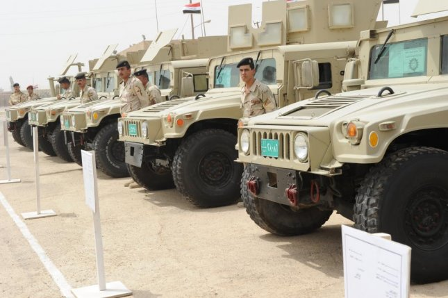 The U.S. Army announced this week that it plans to sell 150 Humvee vehicles to the government of Iraq. U.S. Army photo by Pfc. Danielle Hendrix