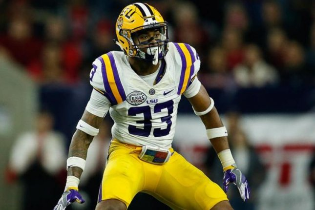 LSU safety Jamal Adams is projected as a first round pick in the 2017 NFL Draft. Photo courtesy of (NFL/Twitter)