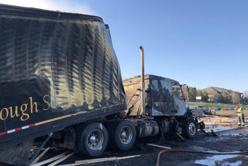 Truck driver faces 'decades' in prison after fiery Colorado crash