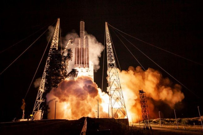 U.S. Space Command is concerned Russia has been testing weapons designed to take out satellites, such as the one this Delta IV Heavy rocket delivered to orbit on Dec. 10. Photo courtesy of United Launch Alliance/Flickr