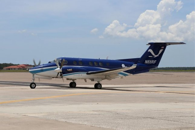A Beechcraft King Air 350 operated by the National Oceanic and Atmospheric Administration, is similar to the military plane that crashed in Nigeria. Photo courtesy NOAA
