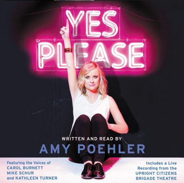 Yes Please will be sold on vinyl starting Sept. 1, 2015. Photo by HarperAudio/HarperCollins Publishers