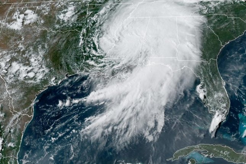 Ida weakens to tropical depression over Mississippi