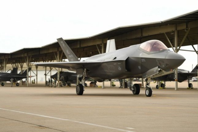 Total Force 388th and 419th Fighter Wing F-35A Lightning II aircraft taxi before departing Hill Air Force Base in Utah on Oct. 30, 2017. Photo by R. Nial Bradshaw/U.S. Air Force