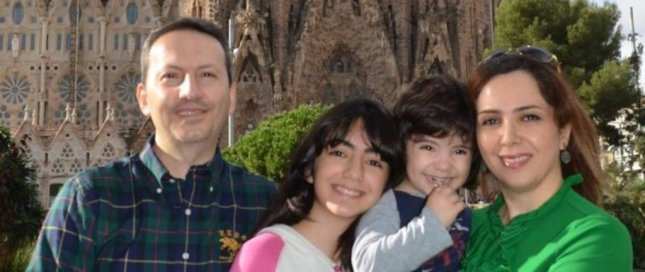 Amnesty International called for the release of Ahmadreza Djalali (L) after his lawyer said he was sentenced to death for spying for the Israeli government. Photo courtesy Amnesty International