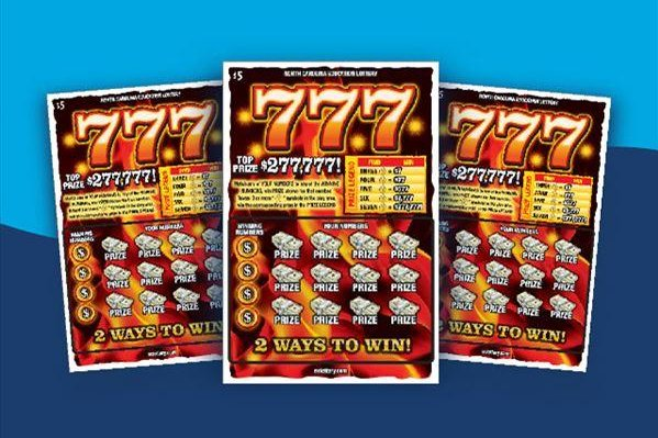 A North Carolina woman said she won a $277,777 lottery jackpot when a clerk mistakenly gave her the wrong ticket. Photo courtesy of the North Carolina Education Lottery