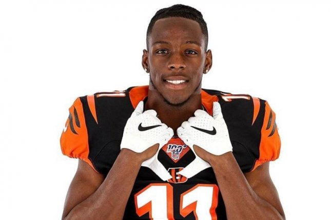 low priced ad1fa 4fce8 Bengals receiver John Ross changing numbers to 'start ...