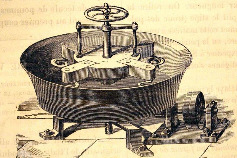 Scientists suggest industrial dough kneaders could use a physics-inspired design update. Photo byFondo Antiguo de la Biblioteca de la Universidad de Sevilla/Wikimedia Commons