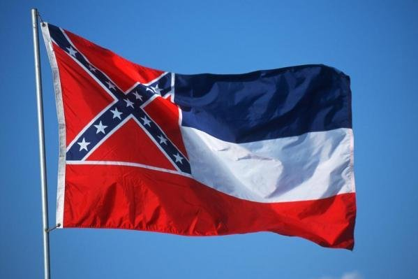 Confederate backers rally at state capitol to resist changes to Mississippi flag